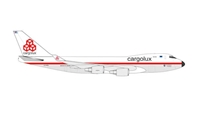 CARGOLUX 747-400ERF 1/500 50TH ANNIVERSARY RETRO (**)