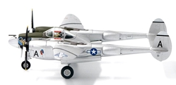 P-38L Lighting Lt. L. V. Bellusci, U.S. Army Air Force, 36th FS, 8th FG, Pacific Theatre, 1945 (1:72) , JC Wings Millitary Item Number JCW-72-P38-001