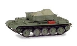 Werkstattpanzer T-54 Tank with Tarped Load (1:87), Herpa Item Number HE745901