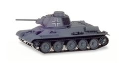 T-34/76 Main Battle Tank - German Commandant Dome  (1:87), Herpa Item Number HE746045