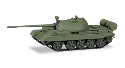 T-55 AM Main Battle Tank with Additional Screens 1:87 high quality plastic by Herpa Military Vehicles Item Number HE746113