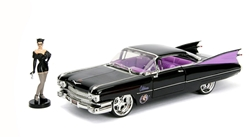 1959 Cadillac Coupe Deville with Catwoman Figure 1:24 by Jada Toys Item Number JDA30458