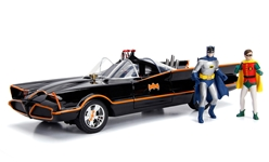 1966 Classic TV Series Batmobile with Lights 1:18 by Jada Toys Item Number JDA98625