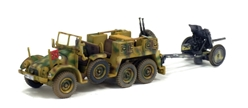 Krupp Protze L2H143 with PAL 35/36 Anti-Tank Gun - France 1943 (1:72) by War Master Diecast Models item number: WM-S7200512