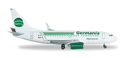 Germania 737-700 (1:500) D-AGEQ, Herpa 1:500 Scale Diecast Airliners Item Number HE517874-001