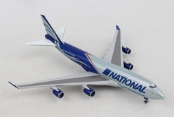 National Air Cargo Boeing 747-400BCF (1:500), Herpa 1:500 Scale Diecast Airliners, Item Number HE518819-001