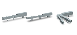 Jet Bridges set of 2 (1:500), Herpa 1:500 Scale Diecast Airliners Item Number HE521031