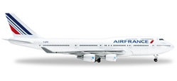 Air France 747-400 F-GITD (1:500) Last 747, Herpa 1:500 Scale Diecast Airliners Item Number HE523271-001