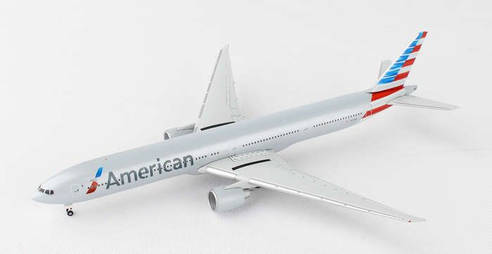 American 777-300 N731AN (1:500) New Livery, Herpa 1:500 Scale Diecast Airliners Item Number HE523950-002
