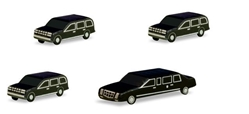 Scenix - Presidential Motorcade Set (1:500), Herpa 1:500 Scale Diecast Airliners Item Number HE526913