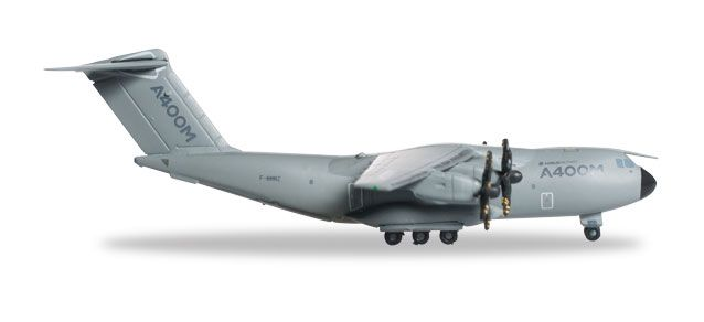 "Airbus A400M F-WWM ""Grizzly 5"" (1:500) New Mould!, Herpa 1:500 Scale Diecast Airliners Item Number HE527040"