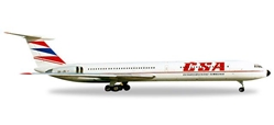 CSA IL-62M OK-JBI (1:500), Herpa 1:500 Scale Diecast Airliners Item Number HE527194