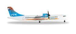 "Arkia Israel ATR-72-500 ""4X-AVZ"" (1:500), Herpa 1:500 Scale Diecast Airliners Item Number HE527262"