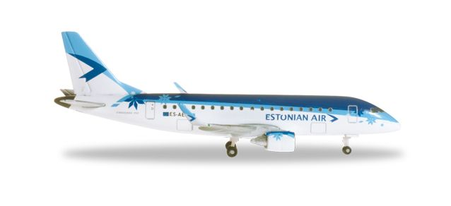 Estonian ERJ-170 (1:500) ES-AEA, Herpa 1:500 Scale Diecast Airliners Item Number HE527422