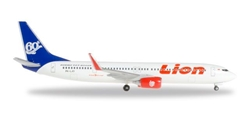 Lion Air 737-900ER PK-LJO(1:500) 60th Boeing 737-900, Herpa 1:500 Scale Diecast Airliners Item Number HE527910