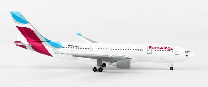 Eurowings A330-200 D-WING (1:500), Herpa 1:500 Scale Diecast Airliners Item Number HE528153