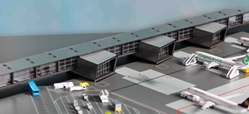 Amersterdam Airport Pier G Corridor & Pier H (1:500), Herpa 1:500 Scale Diecast Airliners Item Number HE528283
