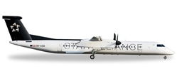 Austrian Dash 8 Q400 OE-LGQ (1:500) Star Alliance, Herpa 1:500 Scale Diecast Airliners Item Number HE528788