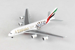 "Emirates Airbus A380 ""Real Madrid"" A6-EOA (1:500), Herpa 1:500 Scale Diecast Airliners Item Number HE529242"
