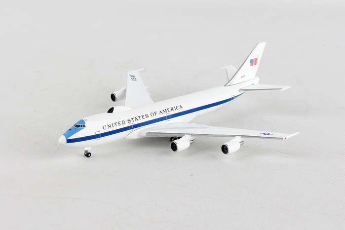 "U.S. Air Force Boeing E-4B ""Nightwatch"" Advanced Airborne Command Post, 55th wing, 1st ACCs (1:500) Reg: 74-0787, Herpa 1:500 Scale Diecast Airliners Item Number HE529266-001"