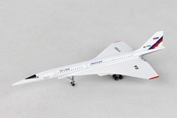 NASA Supersonic Flying Laboratory Tupolev TU-144L RA-77114 (1:500), Herpa 1:500 Scale Diecast Airliners Item Number HE529426
