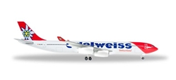 Edelweiss Air Airbus A340-300 HB-JMG (1:500), Herpa 1:500 Scale Diecast Airliners Item Number HE529495
