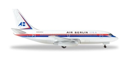 Air Berlin USA 737-200 N9020U (1:500), Herpa 1:500 Scale Diecast Airliners Item Number HE530453