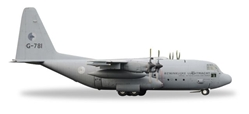 "Royal Netherlands Air Force C-130H, 336 Squadron G-781 (1:500) ""Bob van der Stok"", Herpa 1:500 Scale Diecast Airliners Item Number HE530477"