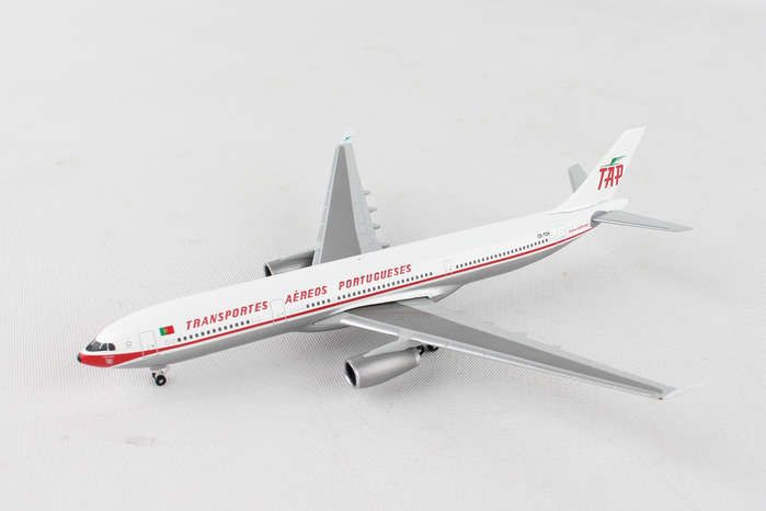 "TAP Portugal Airbus A330-300 ""Retrojet"" CS-TOV (1:500), Herpa 1:500 Scale Diecast Airliners Item Number HE530668"