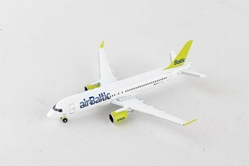 Air Baltic Bombardier CS300 YL-CSA (1:500), Herpa 1:500 Scale Diecast Airliners Item Number HE530798