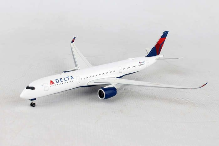Delta Airlines Airbus A350-900 XWB N501DN (1:500), Herpa 1:500 Scale Diecast Airliners Item Number HE530859