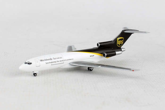 UPS Airlines Boeing 727-100C N936UP (1:500), Herpa 1:500 Scale Diecast Airliners Item Number HE530873