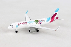 "Eurowings Europe Airbus A320 ""Eurowings Holidays"" OE-IQD (1:500), Herpa 1:500 Scale Diecast Airliners Item Number HE531276"