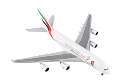 "Emirates Airbus A380 ""Year of Zayed"" A6-EUZ (1:500), Herpa 1:500 Scale Diecast Airliners Item Number HE531535"