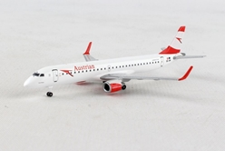 "Austrian Airlines Embraer E195 ""City of Prague"" OE-LWL (1:500), Herpa 1:500 Scale Diecast Airliners Item Number HE531641"