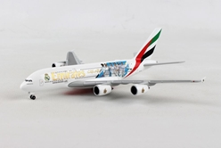 "Emirates Airbus A380 ""Real Madrid (2018)"" (1:500), Herpa 1:500 Scale Diecast Airliners Item Number HE531931"