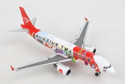 "Thai Air Asia Airbus A320 ""Amazing Thailand"" (1:500), Herpa 1:500 Scale Diecast Airliners Item Number HE532686"