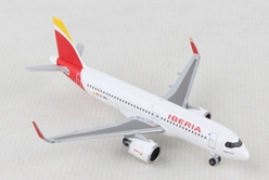 Iberia Airbus A320 neo (1:500), Herpa 1:500 Scale Diecast Airliners, Item Number HE533027