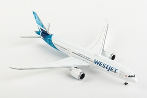 Westjet Boeing 787-9 Dreamliner, New Colors C-GUDH (1:500) by Herpa 1:500 Scale Diecast Airliners Item Number HE533256