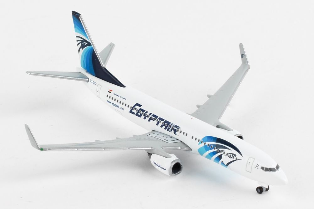 Egyptair Boeing 737-800 (1:500) by Herpa 1:500 Scale Diecast Airliners