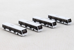 Airport Bus Set 4-in-1 set (1:500)