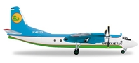 Uzbekistan AN-24B UK-46373 (1:200), Herpa 1:200 Scale Diecast Airliners Item Number HE556613