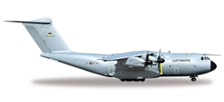 Luftwaffe Airbus A400M Atlas - LTG62 / Air Transport Wing 62 (1:200), Herpa 1:200 Scale Diecast Airliners Item Number HE557207