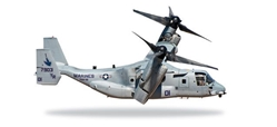 "USMC MV-22B Osprey VMM-161 ""Greyhawks"" (1:200), Herpa 1:200 Scale Diecast Airliners Item Number HE557214"
