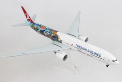 "Turkish Airlines 777-300ER ""Istanbul-San Francisco, Buyukada"" TC-JJU (1:200) - Preorder item, order now for future delivery, Herpa 1:200 Scale Diecast Airliners Item Number HE557337"