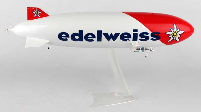 Edelweiss Zepplin NT D-LZZF (1:200), Herpa 1:200 Scale Diecast Airliners Item Number HE557528
