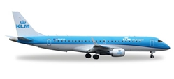 KLM Cityhopper ERJ-190 PH-EXD (1:200), Herpa 1:200 Scale Diecast Airliners Item Number HE557580