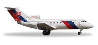 Slovak Air Force YAK-40 OM-BYL (1:200), Herpa 1:200 Scale Diecast Airliners Item Number HE557733