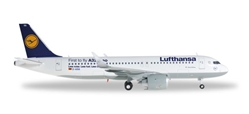 Lufthansa A320NEO D-AINA (1:200), Herpa 1:200 Scale Diecast Airliners Item Number HE557979