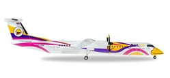 "Nok Air Bombardier Q400 ""Nok Anna"" HS-DQA (1:200), Herpa 1:200 Scale Diecast Airliners Item Number HE558044"